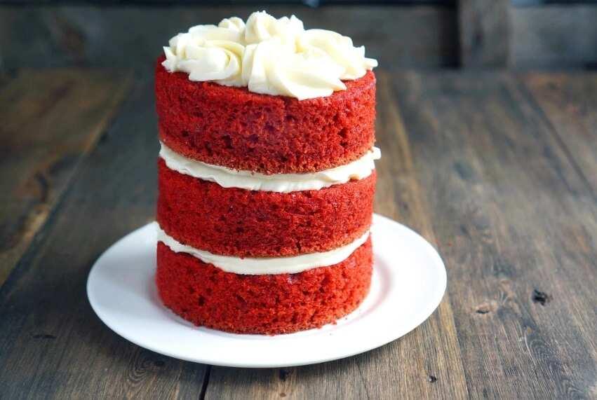Easy red velvet cake recipe