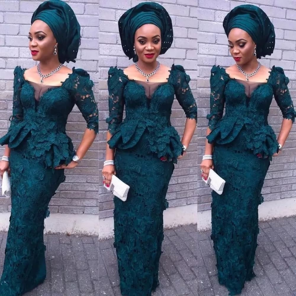 Latest Nigerian fashion lace styles ▷ Legit.ng
