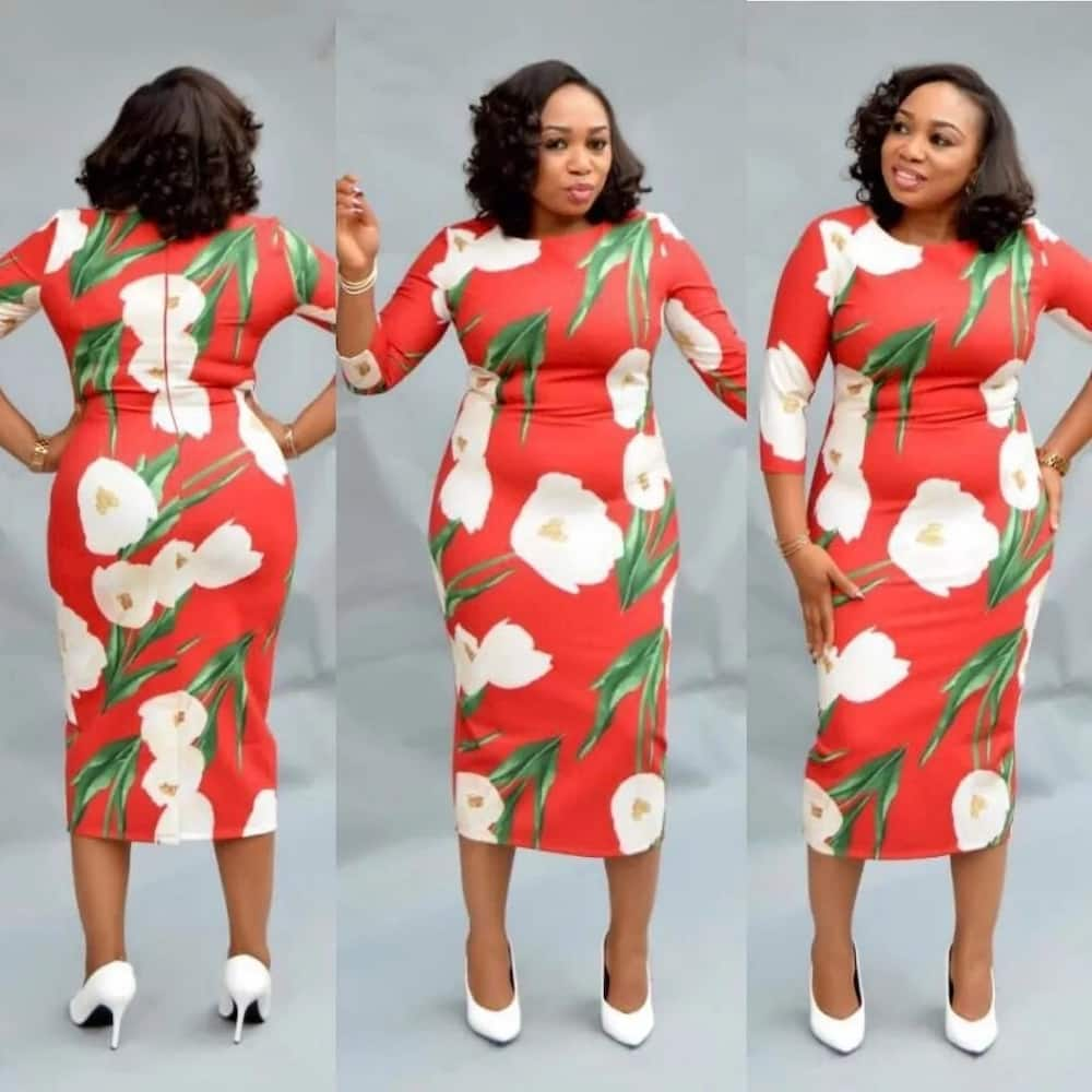 Image result for nigerian articles on how to style floral outfits