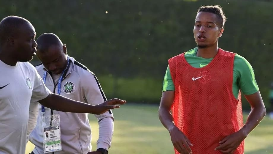 Ebuehi suffers nose injury during first Super Eagles training session in Russia