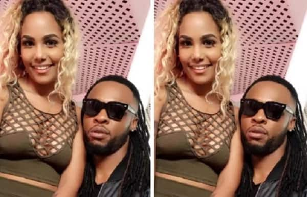 Singer Flavour poses with new chic in his life ▷ Legit ng