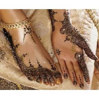 7 bridal henna designs for the Hausa bride