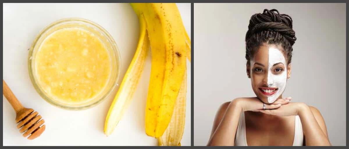 Honey and banana benefits for skin