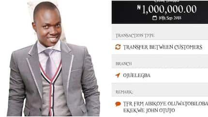 Nigerian guy in search of man who returned N1m mistakenly sent to his bank account