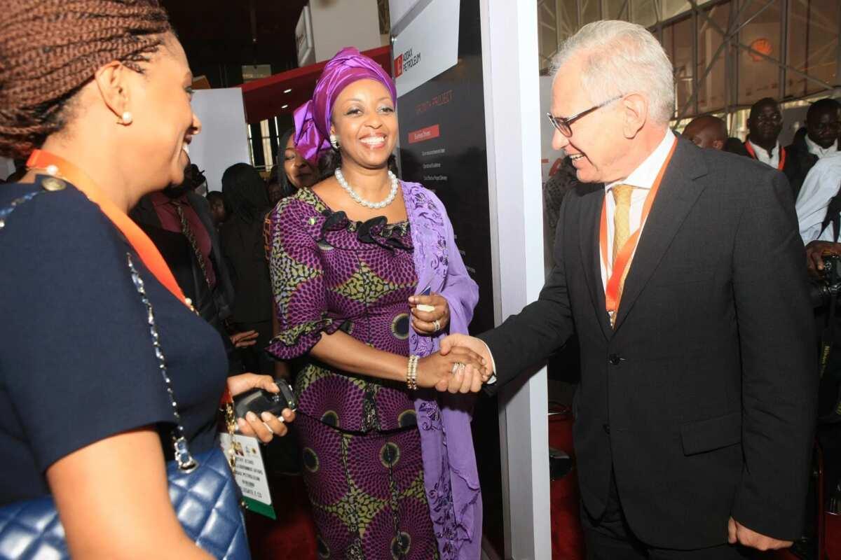 Dorothy Atake and Diezani Alison-Madueke