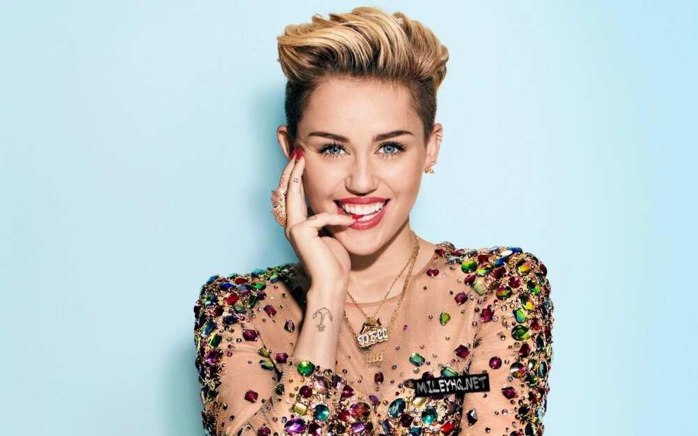 50 most popular women - Miley Cyrus