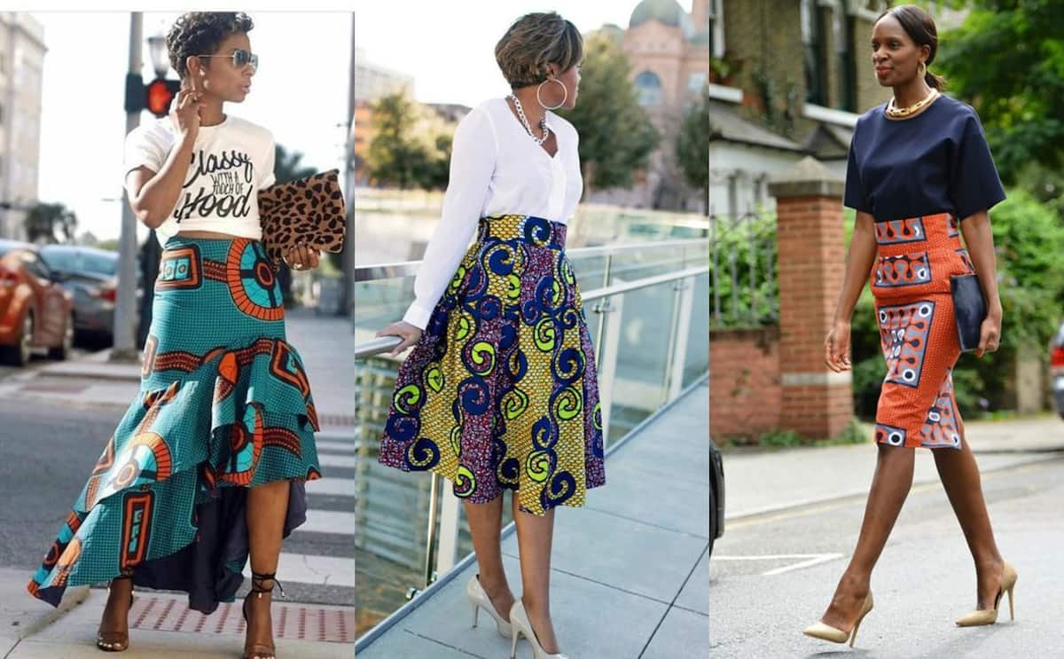 So different, but so beautiful skirts