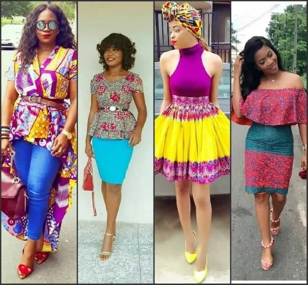 Unique Ankara gowns 2017