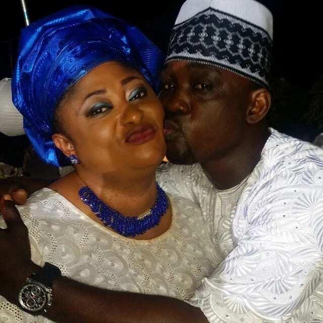 Jaiye Kuti and her husband Pasuma