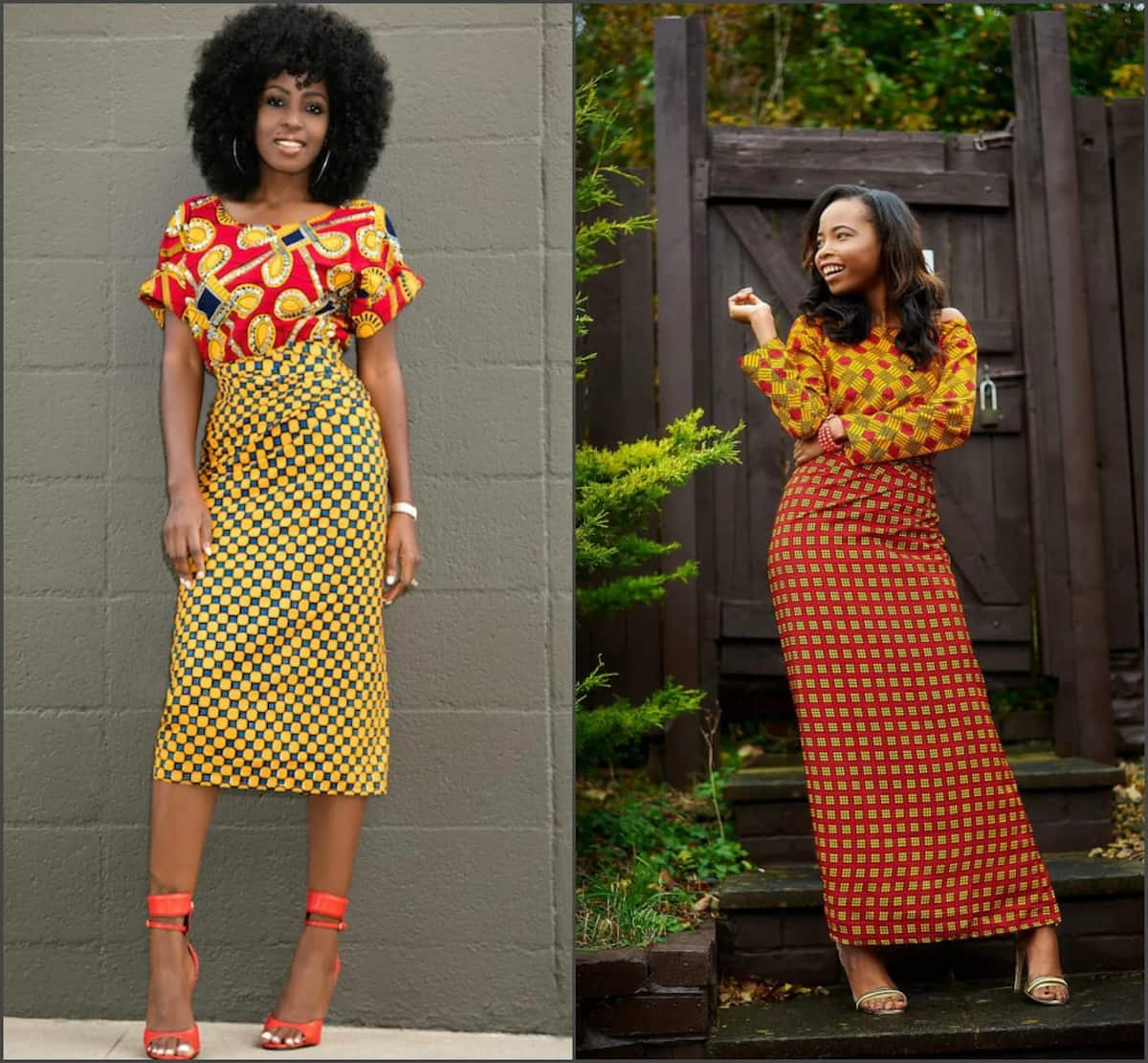 Latest Ankara blouse and wrapper styles - sleeves