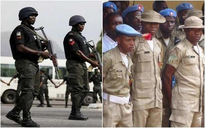 Yanzu Yanzu: An ji karar bindiga yayin arangama tsakanin 'Yan sanda da Peace Corps a Abuja