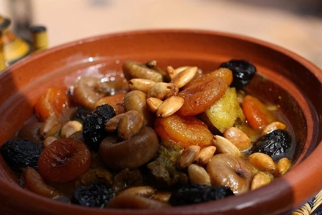 legumes and dried fruits
