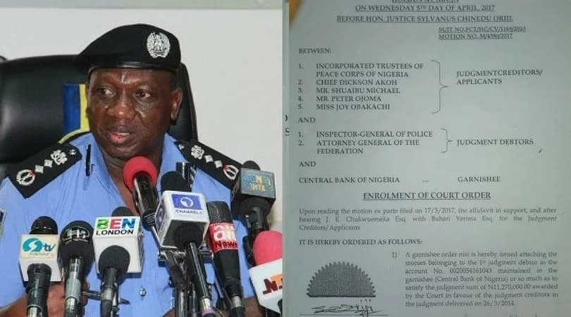 Nigeria police loses N11 2million to Peace Corps in human