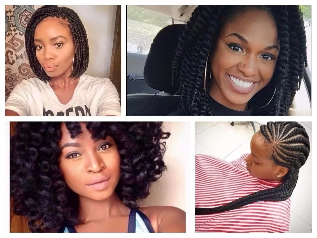 Nigerian Hairstyles For Round Faces Legit