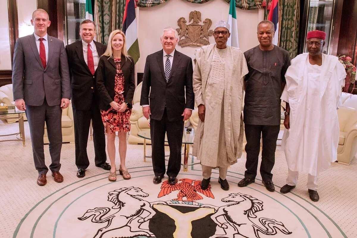 Amurka ta nemi ni da Jonathan mu bi a hankali a 2015 kuma haka aka yi - Buhari