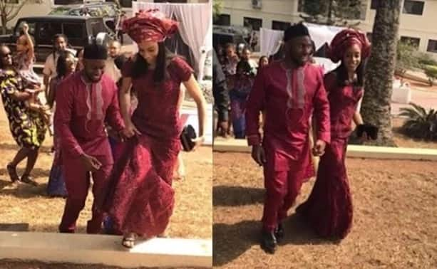Okonjo-Iweala's son traditionally weds Chinua Achebe's granddaughter in Abia state (photos)