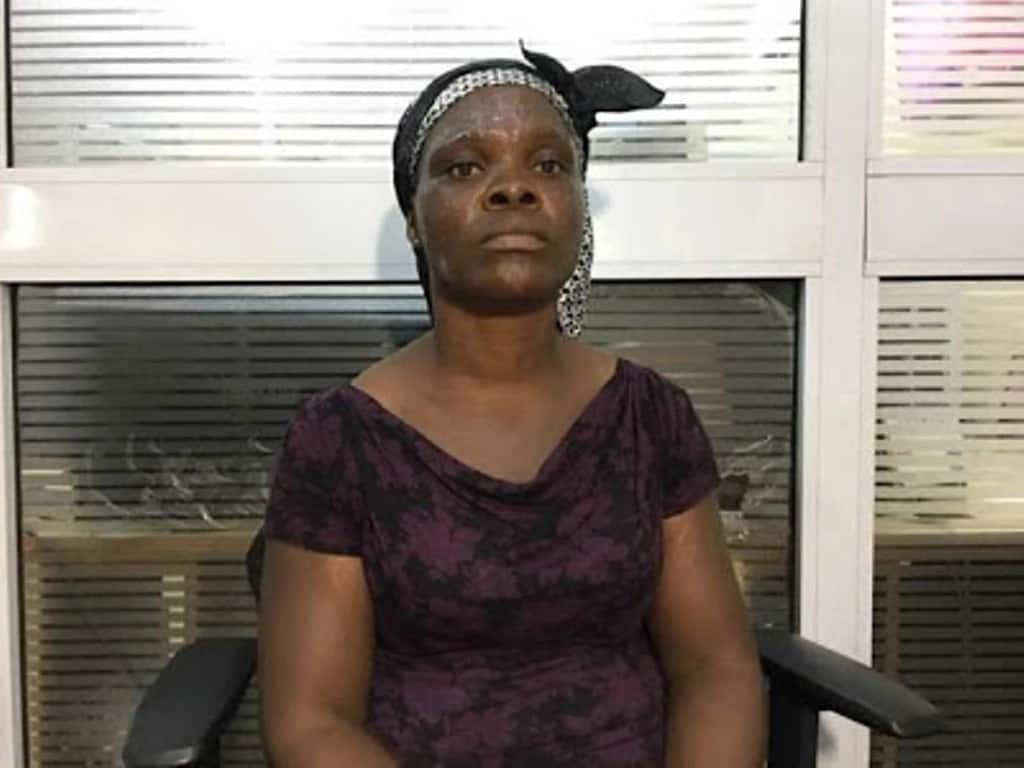 Ghanaians donate N3million to nursing mother who was brutalized by a police officer