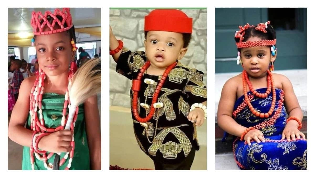 Igbo Traditional Attire For Children Legit.ng