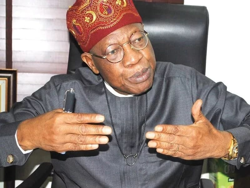 Lazy Nigerian youths comment: Critics inciting young Nigerians against Buhari –Lai Mohammed