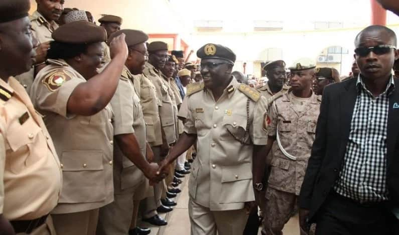 Ranks in the Nigeria immigration service
