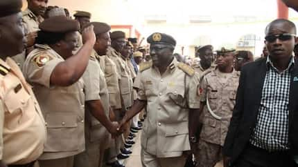 Jubilation as Nigeria Immigration Service promotes 8,821 officers
