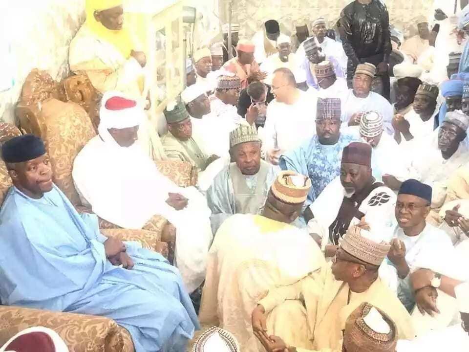 Cikin Hotuna: Ministan Shari'a, Abubakar Malami, ya aurar da diyarsa a Jihar Kebbi