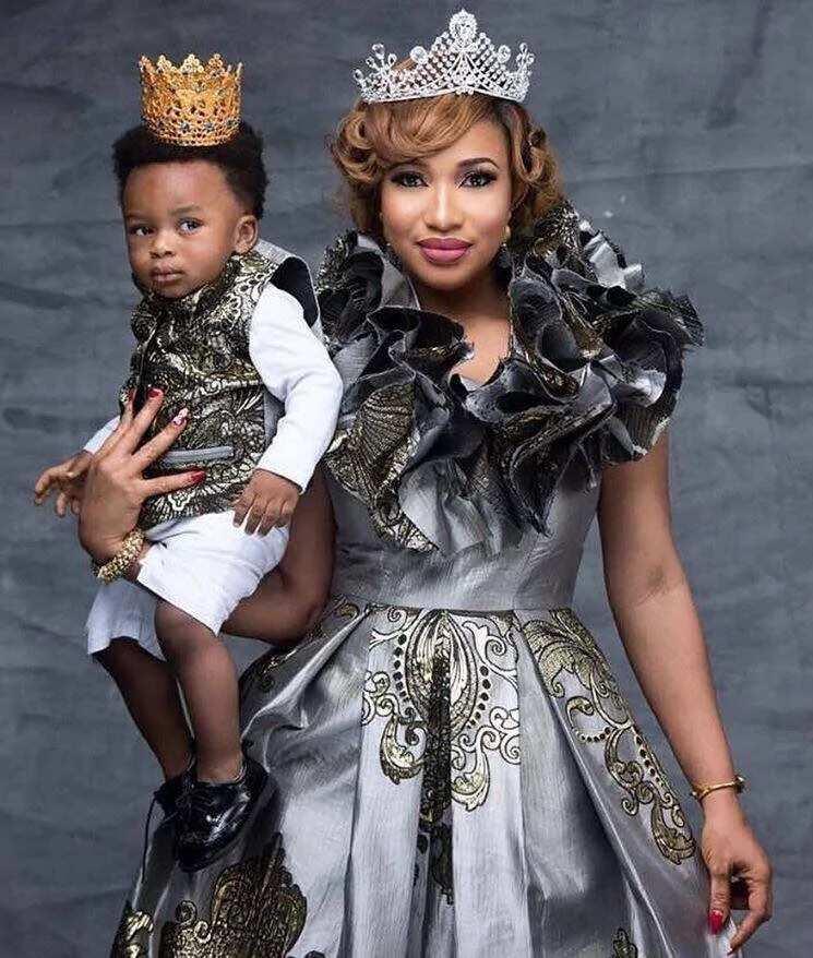 Tonto Dikeh and her prince