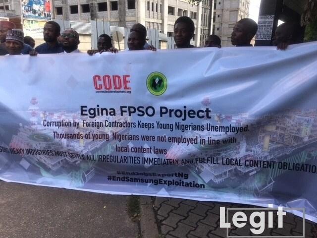 Egina-FPSO-protest
