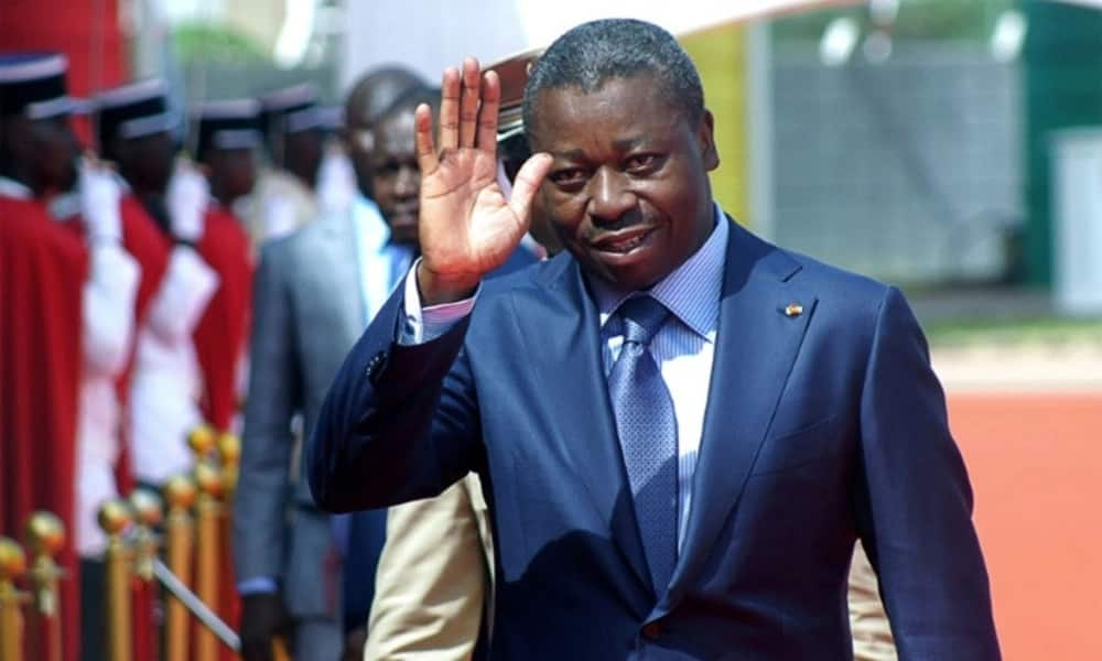 Who is the current chairman of ECOWAS? Faure Gnassingbe