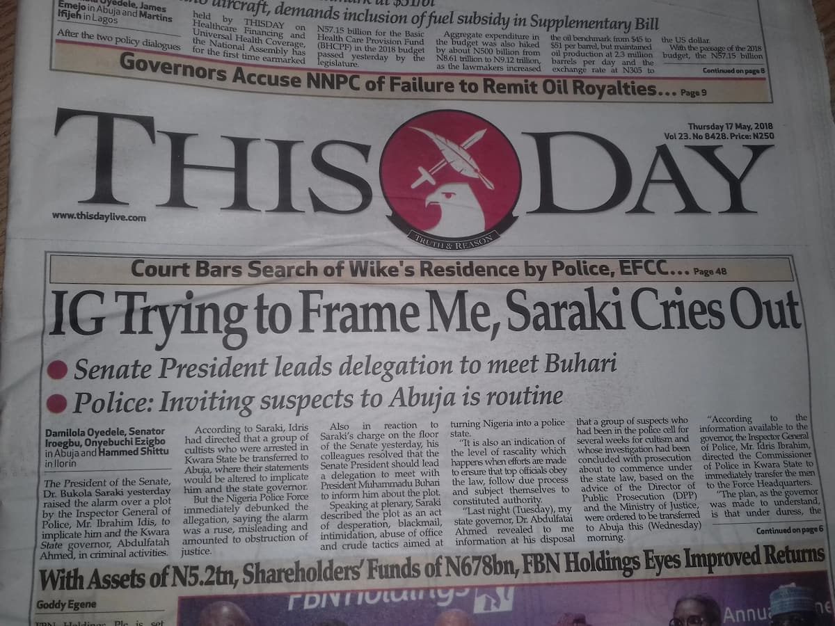This Day Newspaper