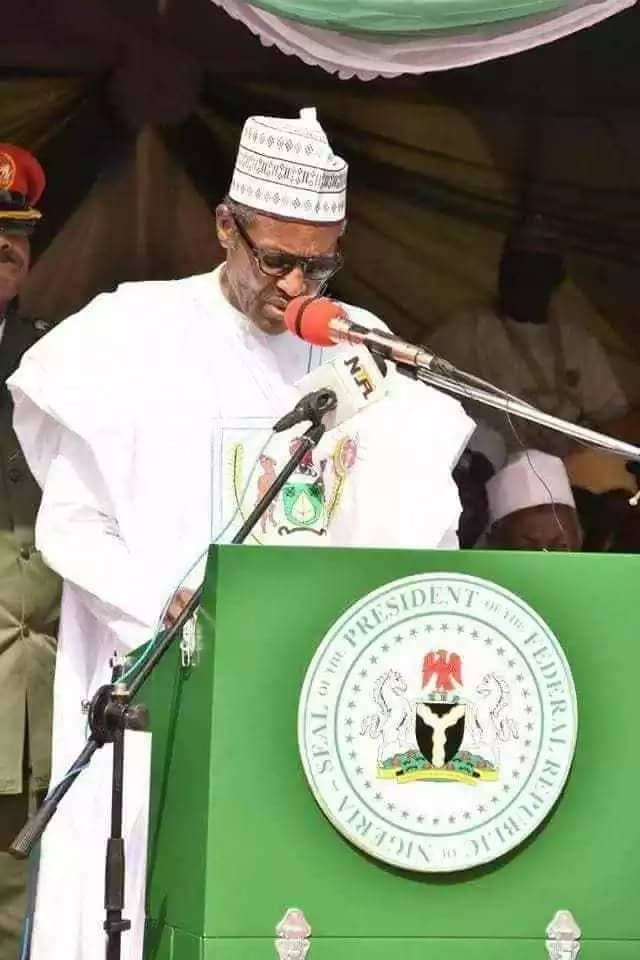 President Buhari speaks about his campaign promises