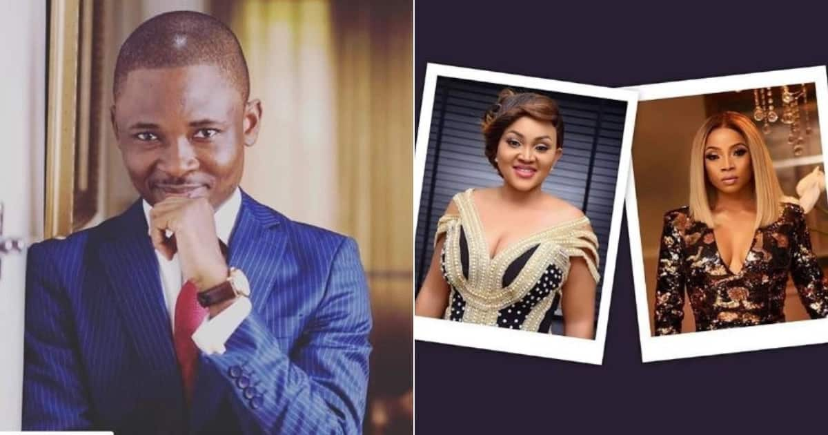 Omojuwa defends Mercy Aigbe, Toke over rumours that their new houses were not a result of hard work