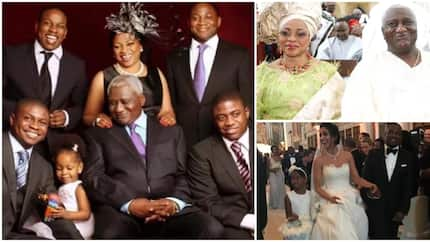 Mrs. Folorunsho Alakija is not only richest woman in Africa but beloved wife and mother of 4 handsome sons