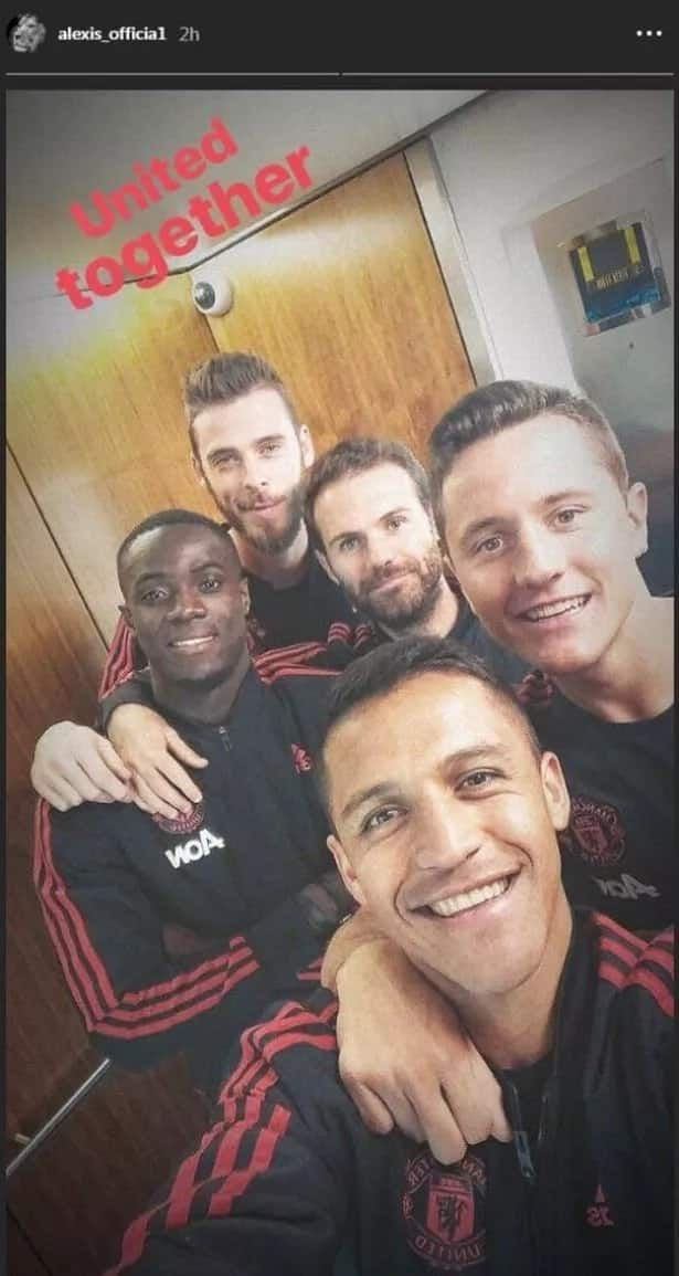 Sanchez and teammates claim players remain united despite Mourinho and Pogba's fallout