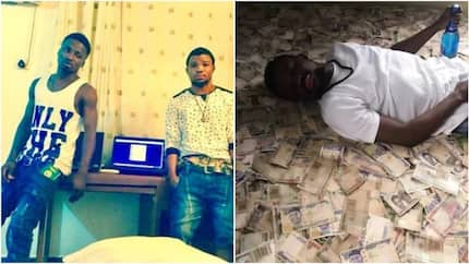It really hurts me when people call me ritualist - Nigerian man who 'sleeps on money' says