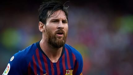 Barcelona include Lionel Messi in their squad to face Inter Milan