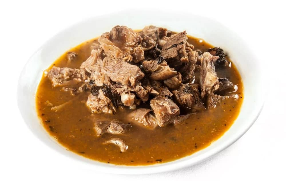 Yam pepper soup with goat meat recipe ▷ Legit ng
