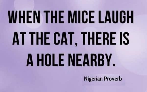 Top 15 Nigerian proverbs and their meanings