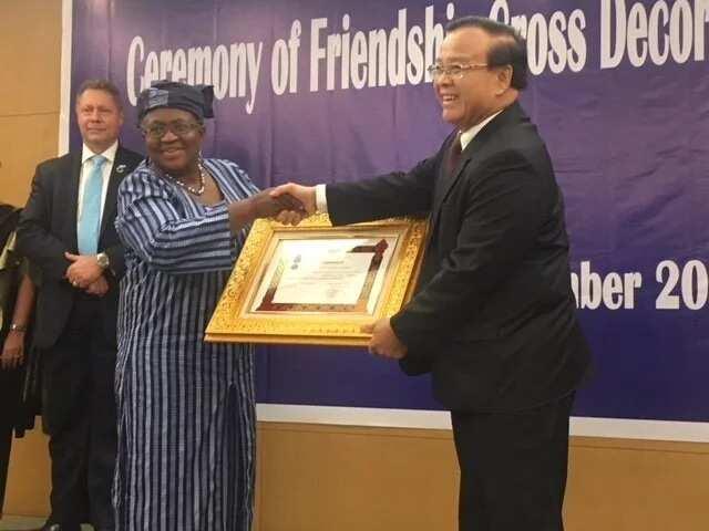 Okonjo-Iweala honoured in Laos (photos)