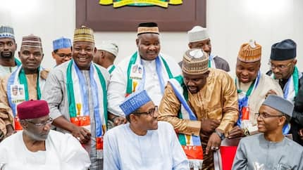 Sunayen jaruman fim din Hausa 15 da ke yiwa Buhari kamfen