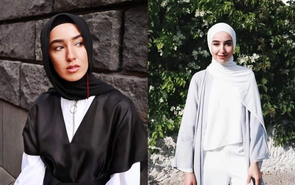 Hijab styles for oval face shapes