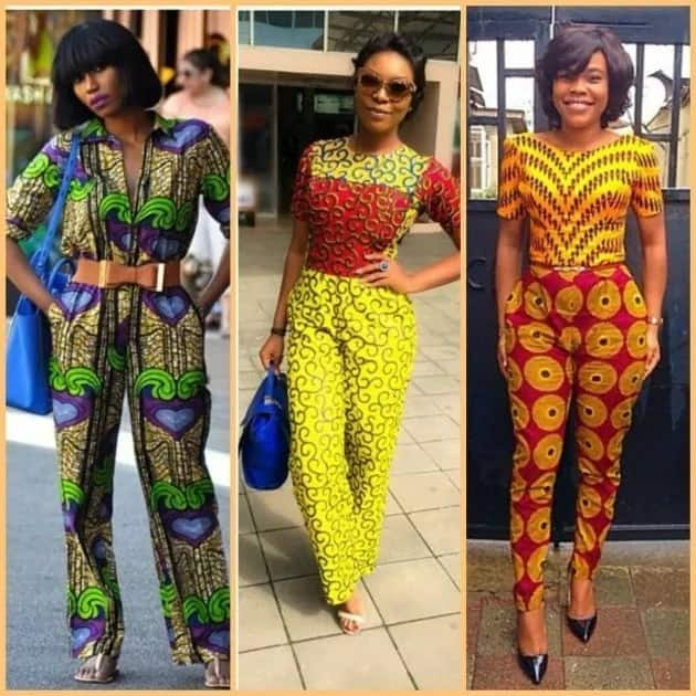 African Print Jumpsuit Styles For Nigerian Fashionistas