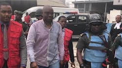 Breaking: Fayose reportedly involved in accident on Third Mainland Bridge