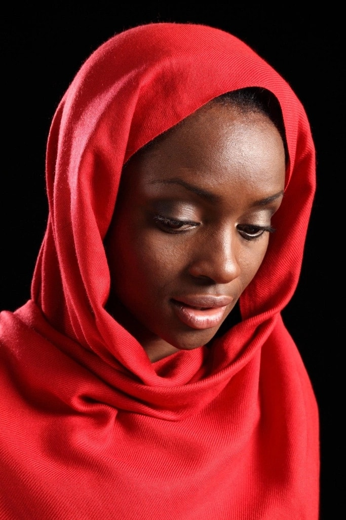 Hijab styles for face shapes