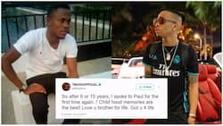 I got you for life - Tekno tells Paul, his lost and found friend