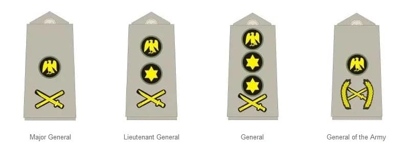 Nigerian Army Ranks And Symbols in 2019 ▷ Legit ng