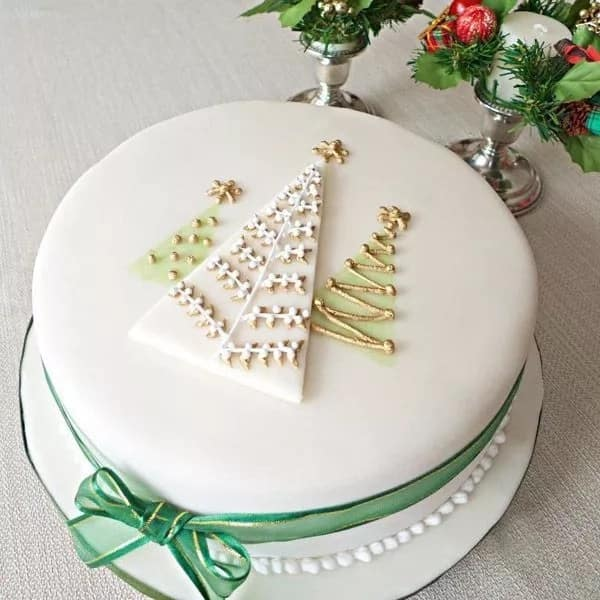 Elegant Christmas Cake Designs In 2017-2018 Legit.ng