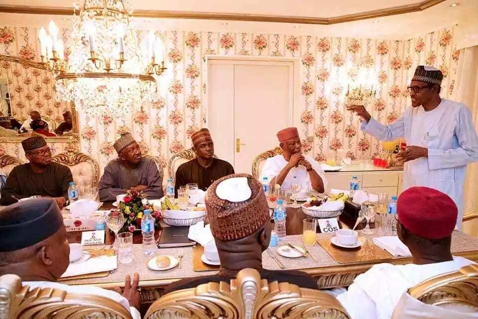 Buhari ya fito ma shuwagabannin APC a mutum, ya bayyana masa dalilin gayyatarsu
