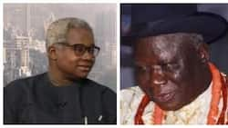 You were busy marrying a new wife during GEJ's regime instead of helping your people - VON DG blasts Edwin Clark over ultimatum issued to Buhari govt
