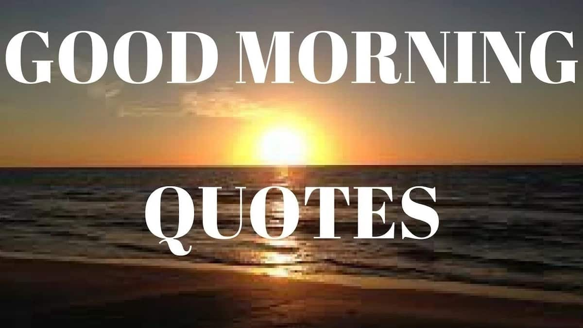 Morning inspirational quotes